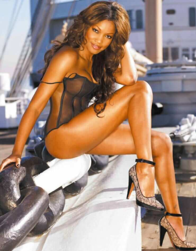Garcelle Beauvais hot side pics