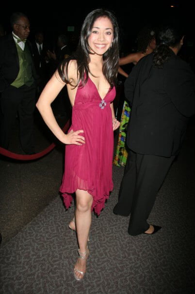 aimee garcia hot cleavage picture