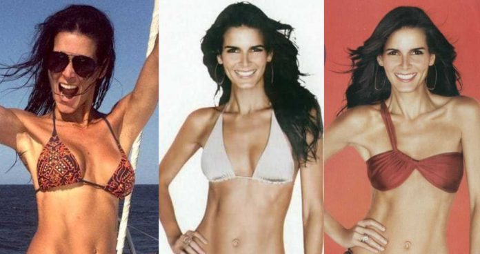 49 Hottest Angie Harmon Bikini Pictures Will Make You Believe She Is A Goddess