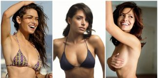 49 Hottest Sarah Shahi boobs Pictures Are Here To Turn Up The Temperature