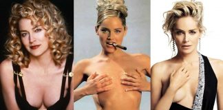 49 Hottest Sharon Stone Boobs Pictures Will Rock Your World With Beauty And Sexiness