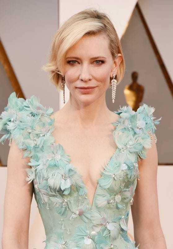 Cate Blanchett cleavage pictures