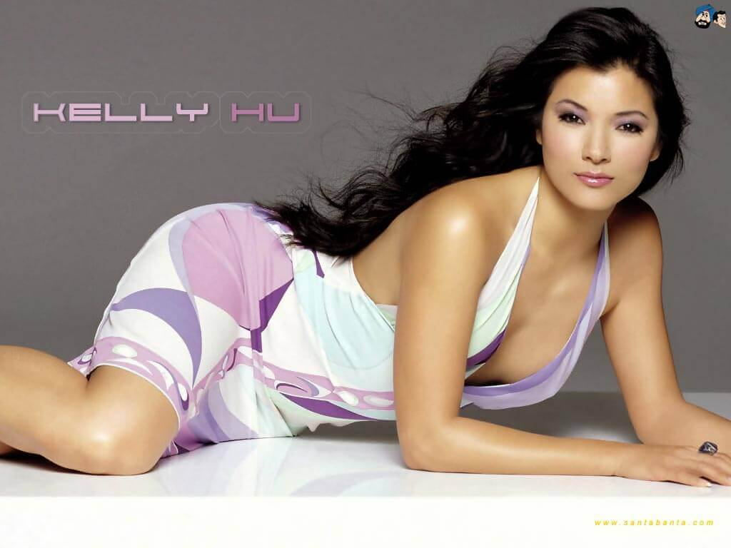 Kelly Hu boobs