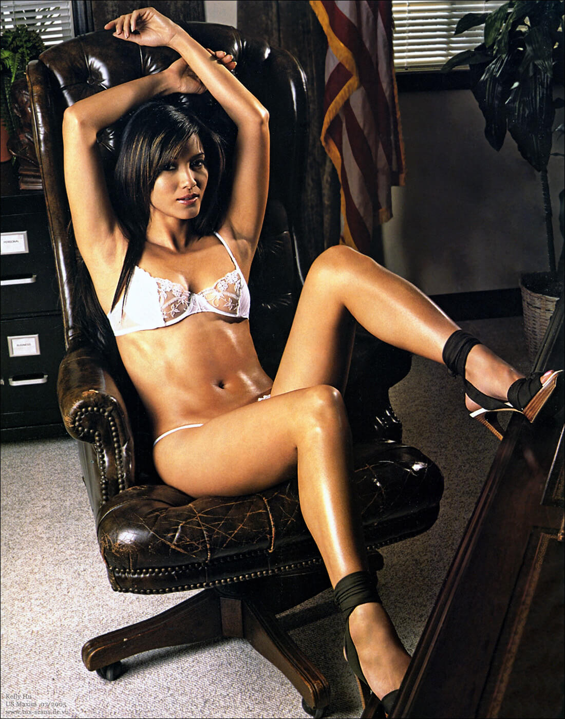 Kelly Hu feet
