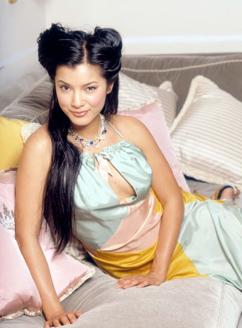 Kelly Hu smile