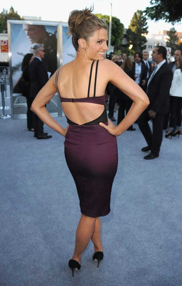 Stana Katic sexy butt pictures