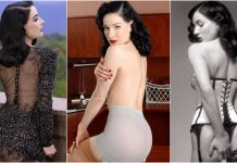 49 Hottest Dita Von Teese Big Butt Pictures Will Make You An Addict Of Her Beauty