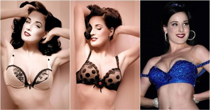 49 Hottest Dita Von Teese Bikini Pictures Define The Meaning Of Beauty