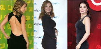 49 Hottest Erica Durance Big butt Pictures Will Make Your Pray Her like Goddess