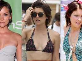 49 Hottest Jessica Stroup Bikini Pictures Shows She Has Best Hour-Glass Figure