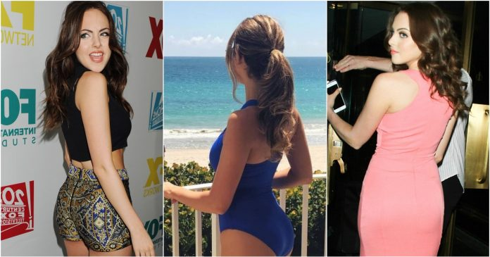 49 Hottest Elizabeth Gillies Big Butt pictures Are Blessing From God To People