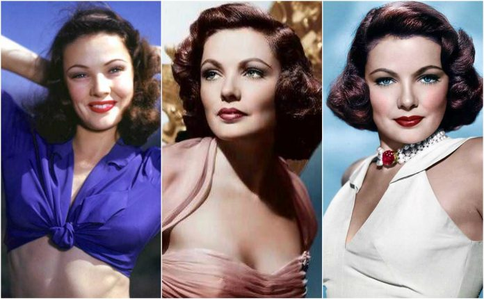 49 Hottest Gene Tierney Big Boobs Pictures Are Blessing From God To People