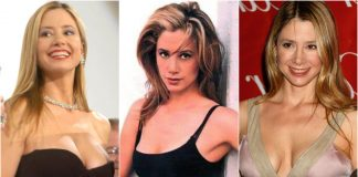 49 Hottest Mira Sorvino Boobs Pictures Shows She Has Best Hour-Glass Figure