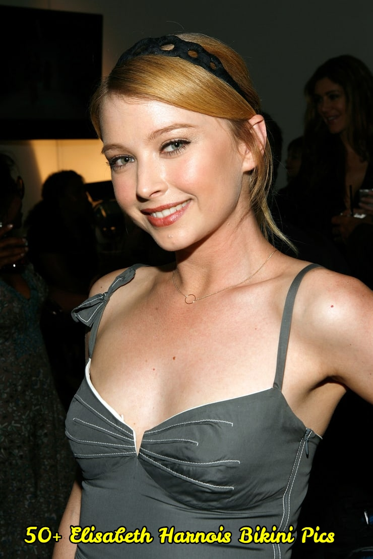 Elisabeth Harnois side boobs