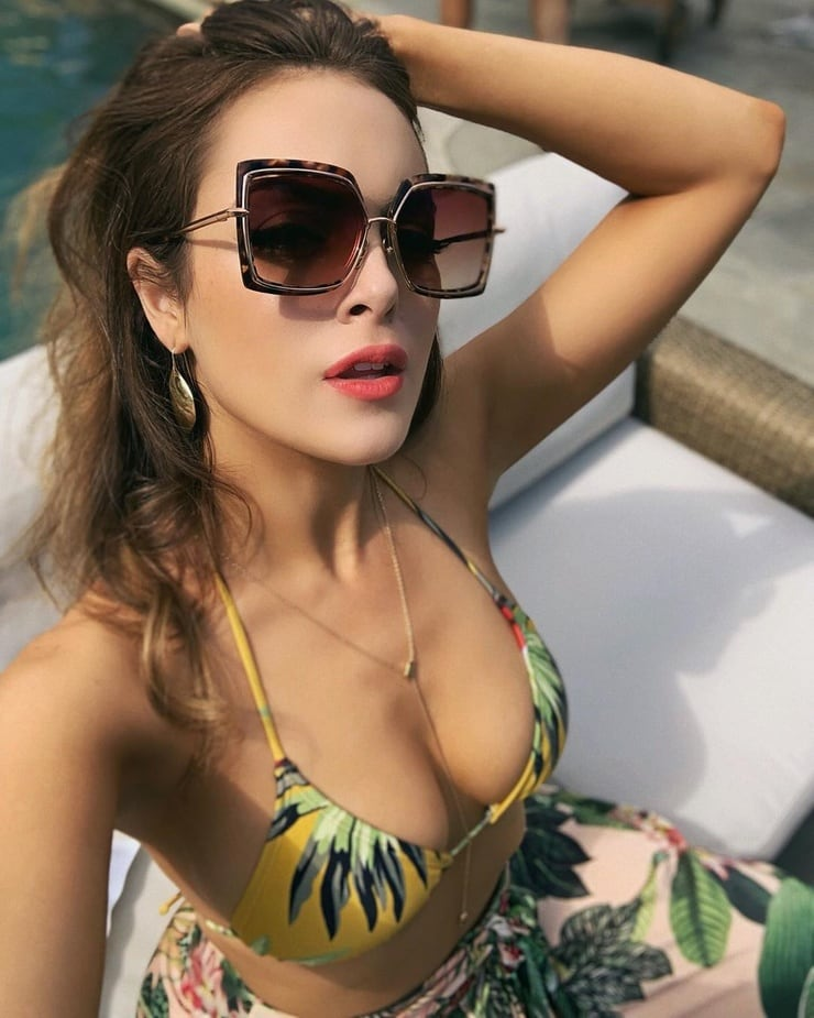Elizabeth gillies in a bikini