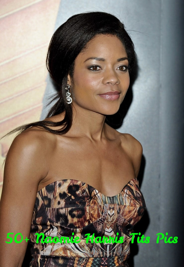 Naomie Harris boobs pic