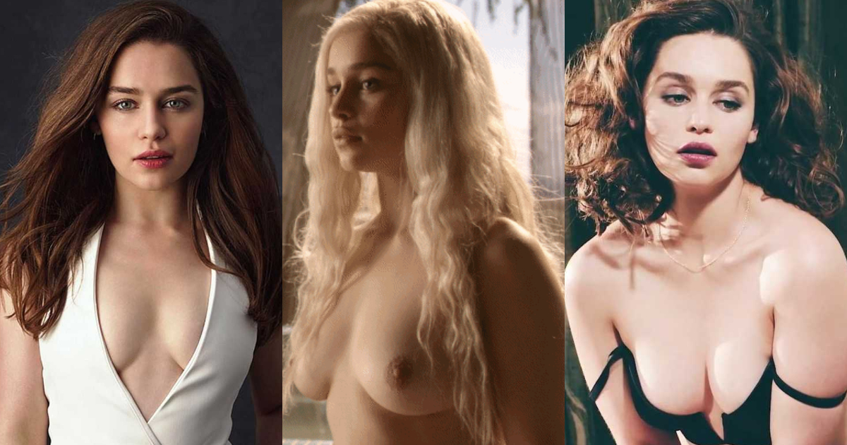 Emilia clarke nude pics and naked in sex scenes