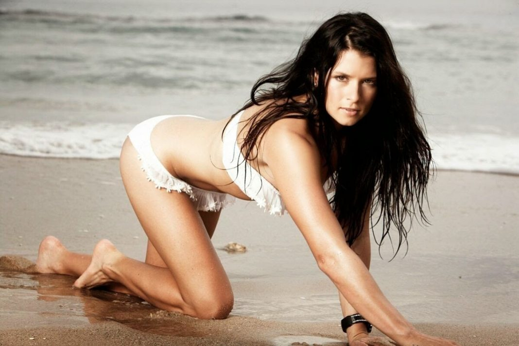 Danica patrick boobs redhead woman