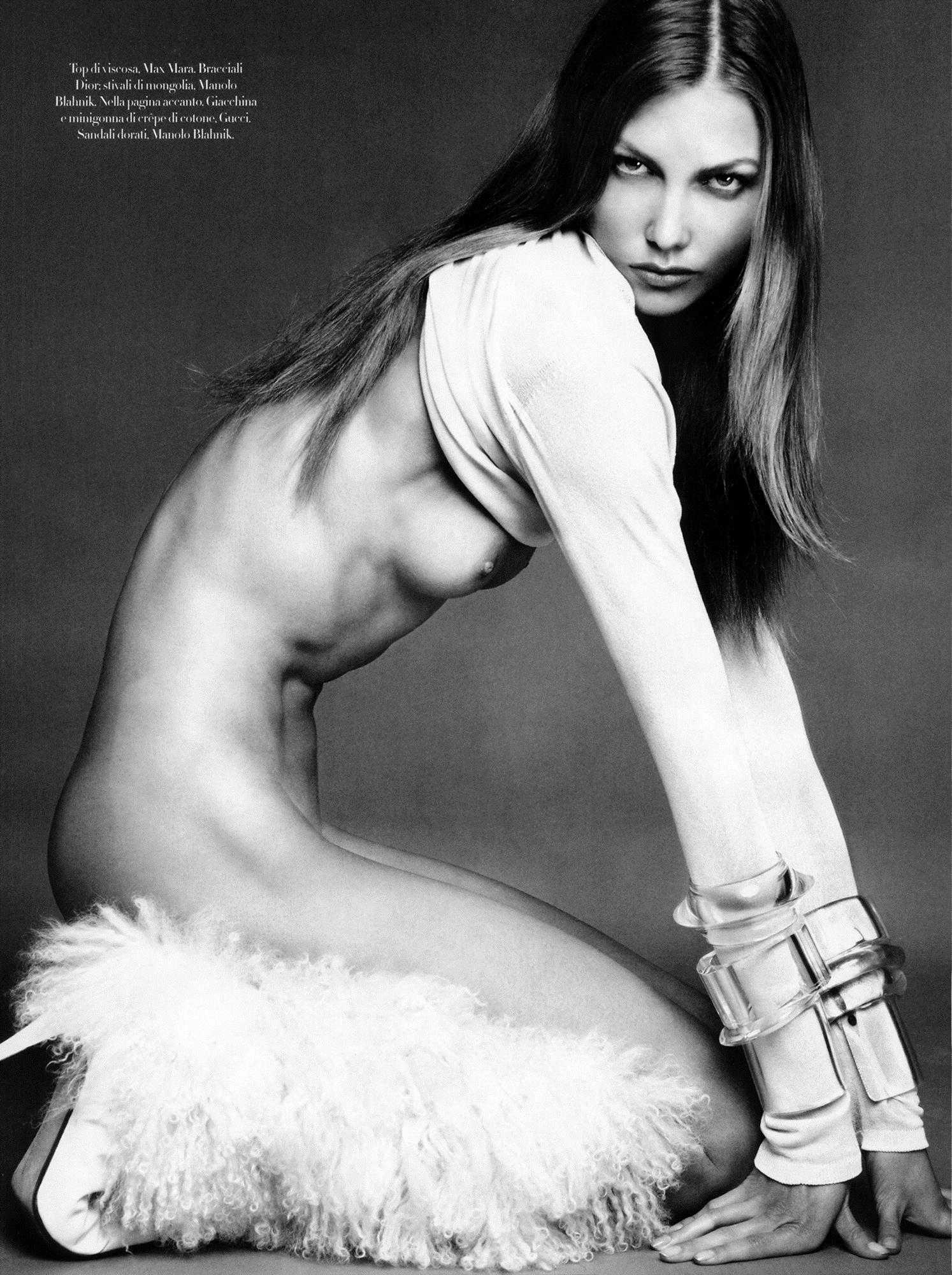 Nude Pictures Of Karlie Kloss Which Are Incredibly Bewitching