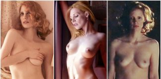 44 Nude Pictures Of Jessica Chastain Will Drive You Frantically Enamored With This Sexy Vixen