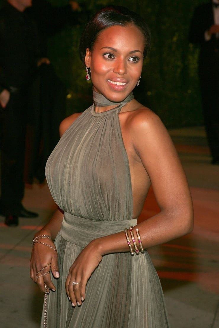 Scandalous Kerry Washington Pictures - The Fappening