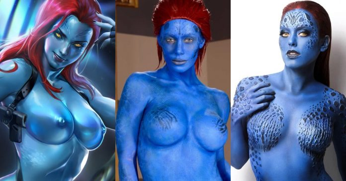 49 Nude Pictures Of Mystique Which Make Certain To Prevail Upon Your Heart
