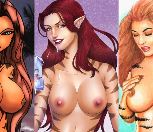 49 Nude Pictures Of Tigra Are Simply Excessively Damn Hot