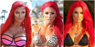 50 Nude Pictures Of Eva Marie Are Windows Into Paradise