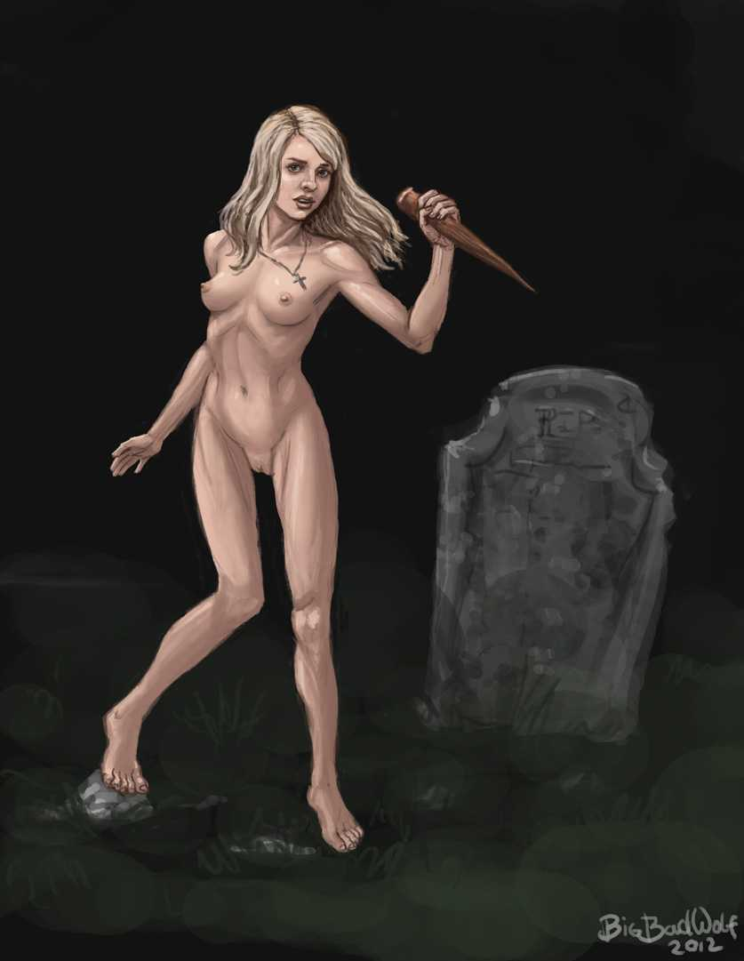 Buffy Summers naked