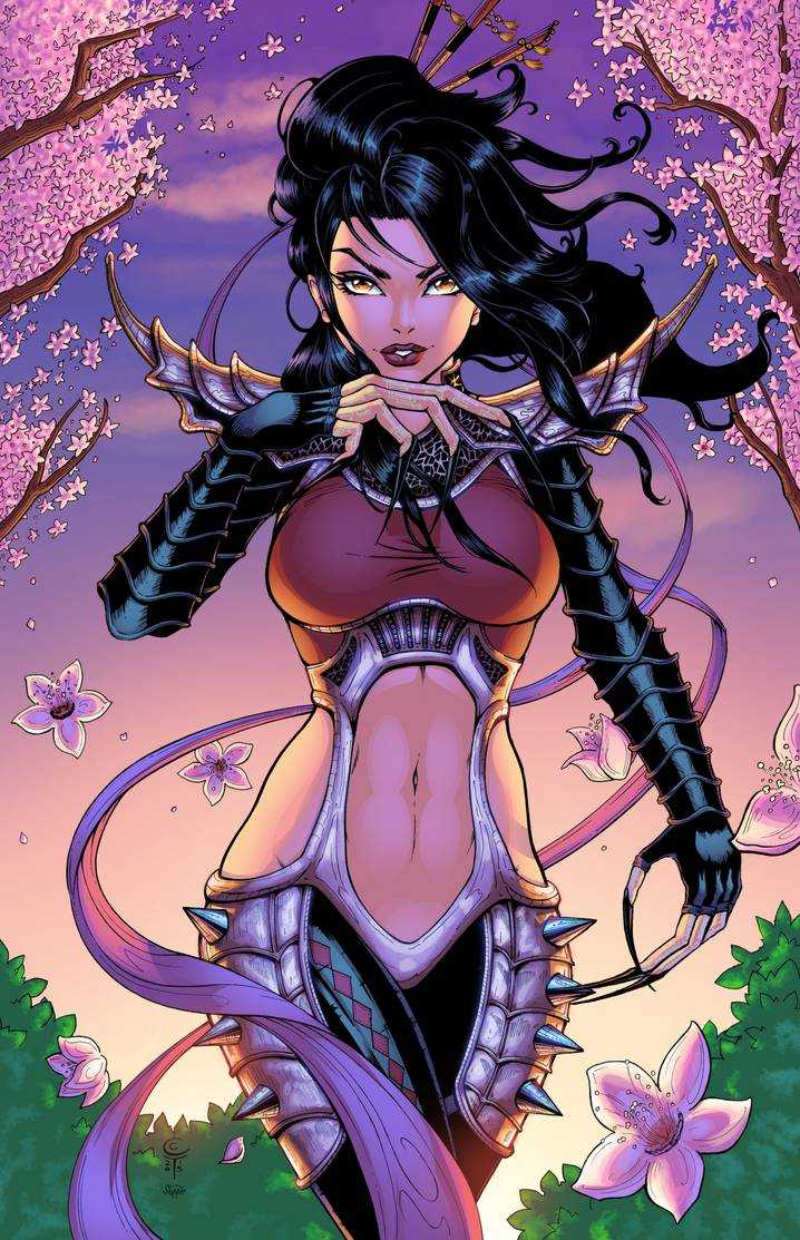 Lady Deathstrike nipples