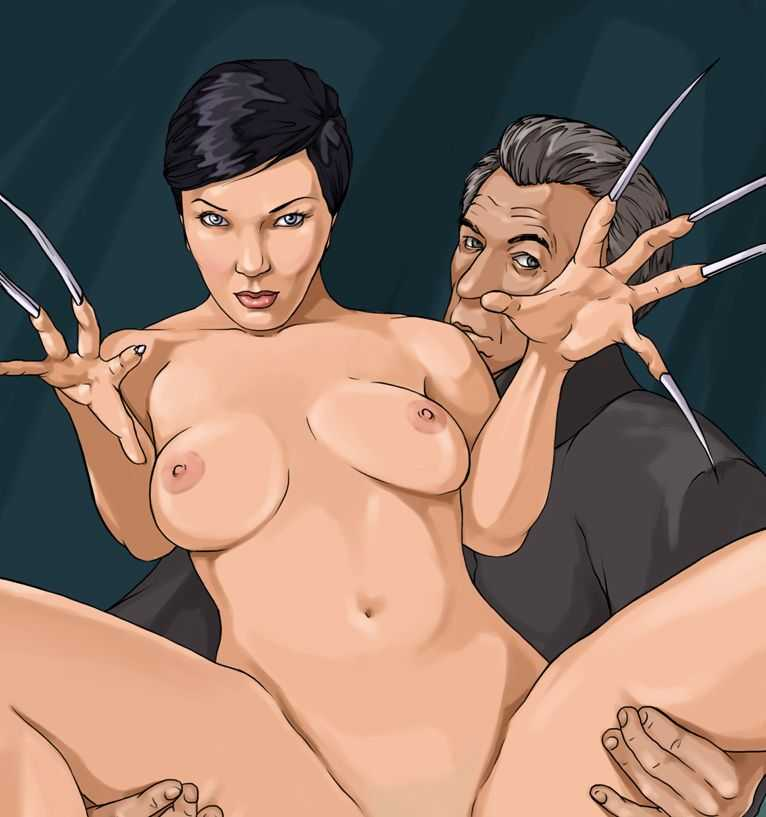 Lady Deathstrike sex scene