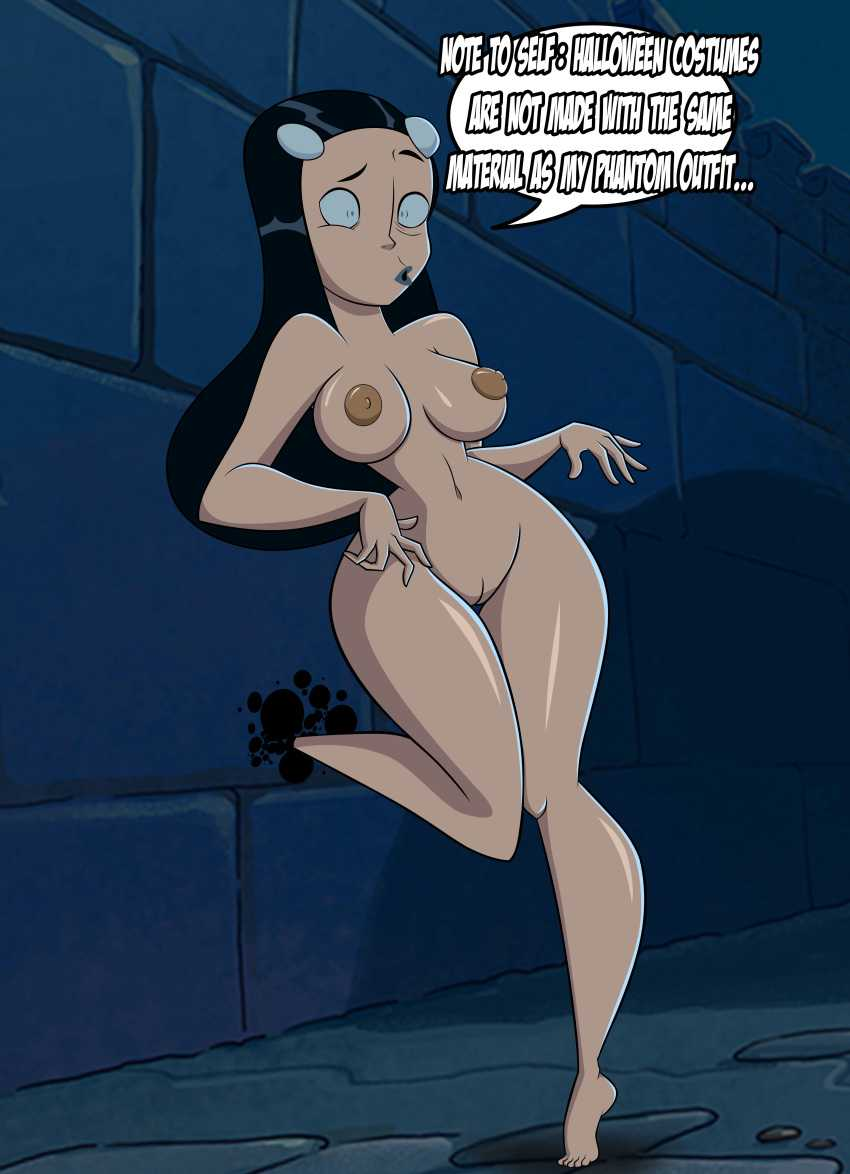 Phantom Girl NUDE