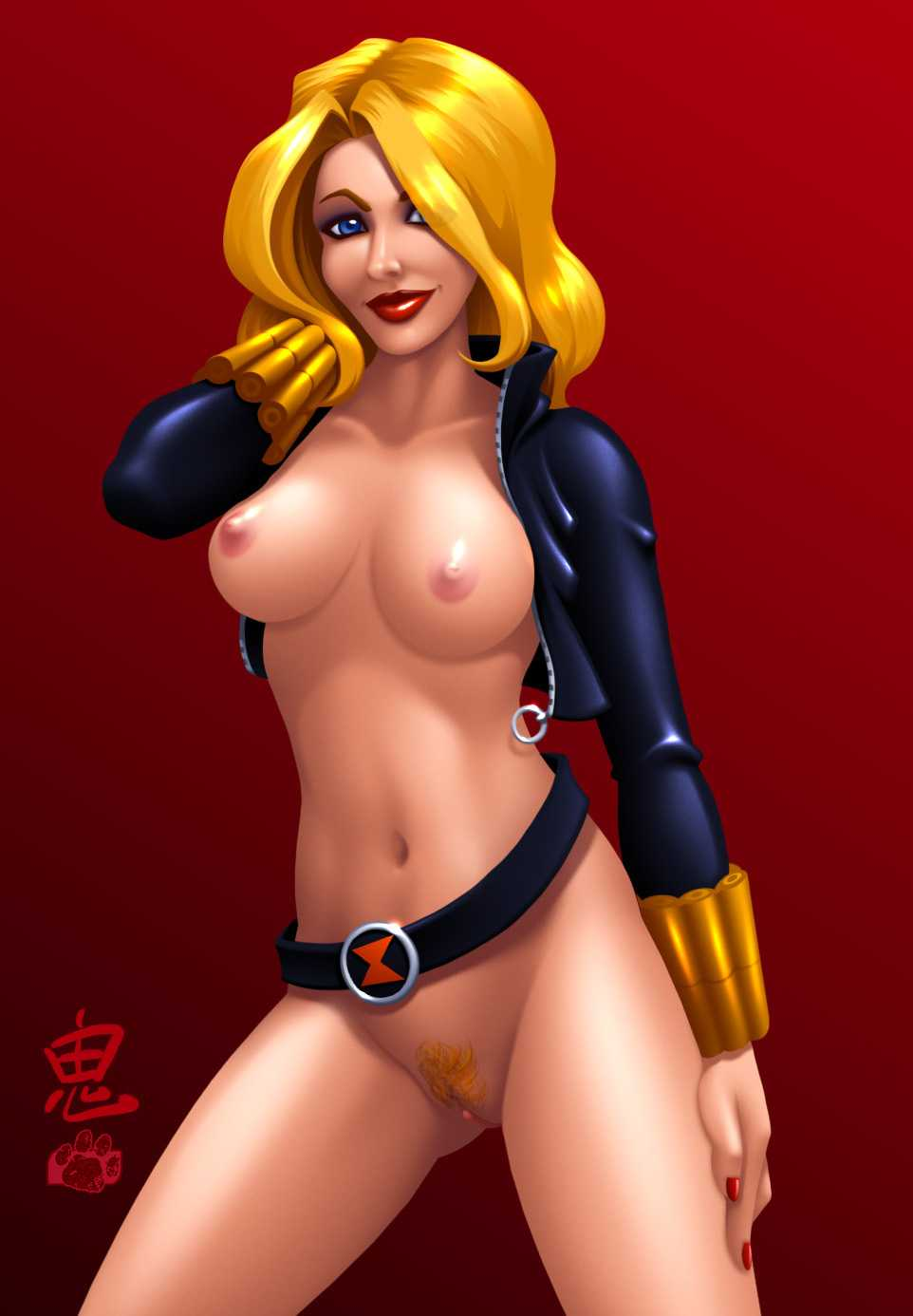 Black Widow (Yelena Belova) nude
