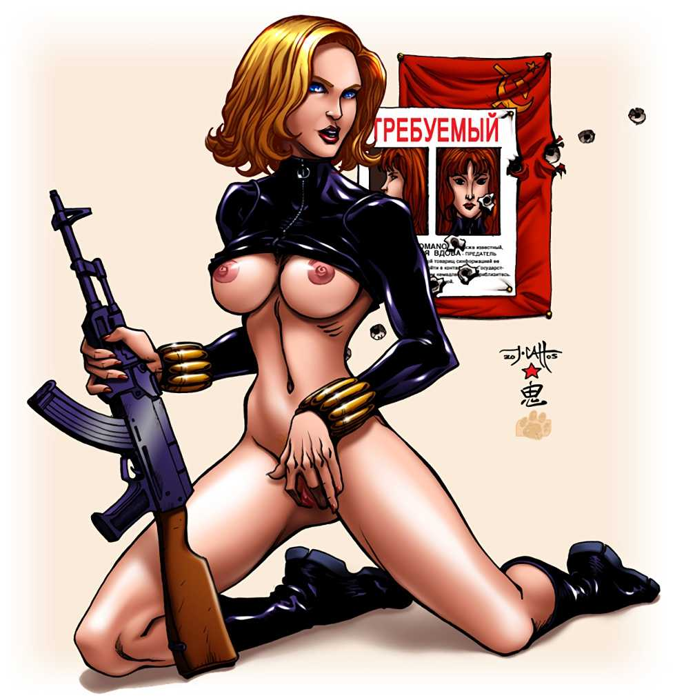Black Widow (Yelena Belova) topless
