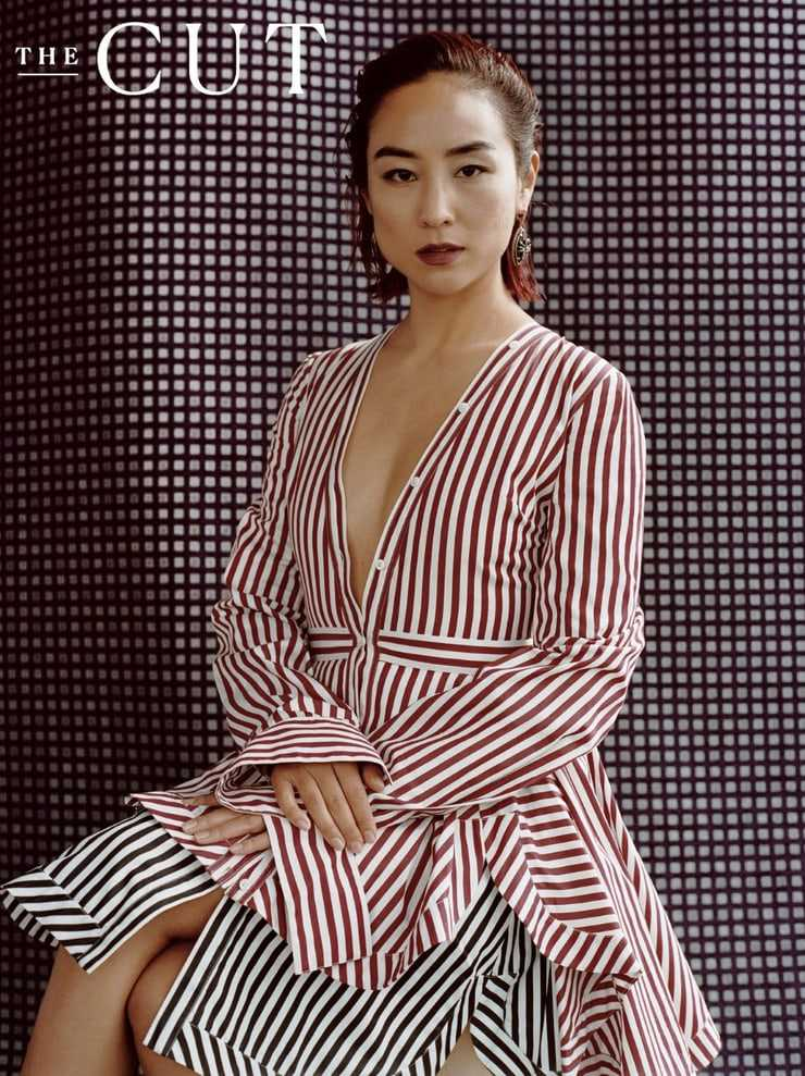 Greta Lee sexy boobs pic