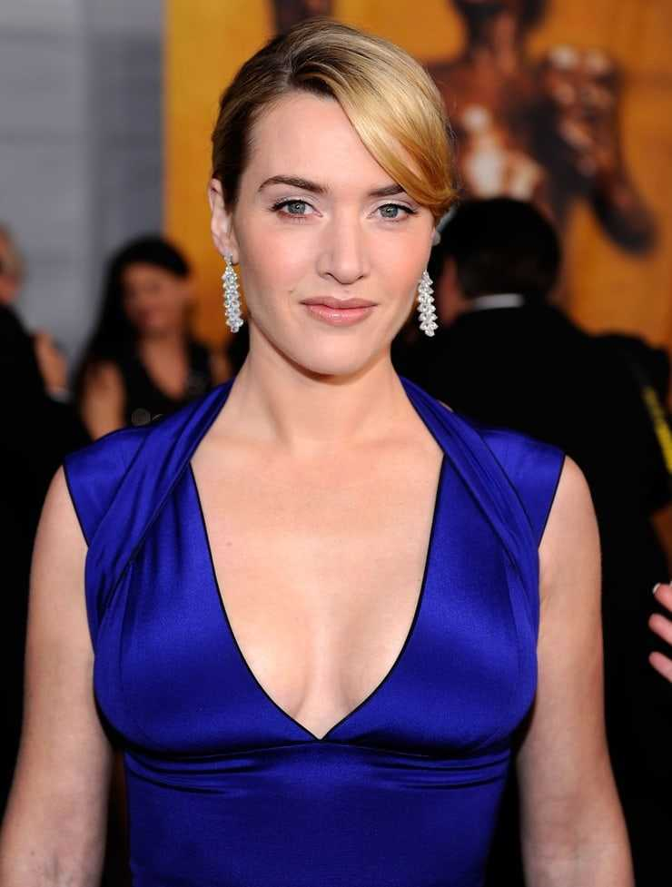 Kate Winslet cleavage pictures