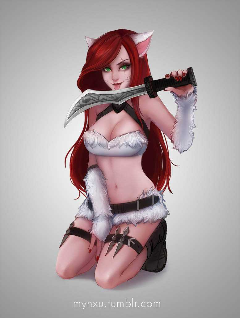 Kitty Cat Katrina - League Of Legends