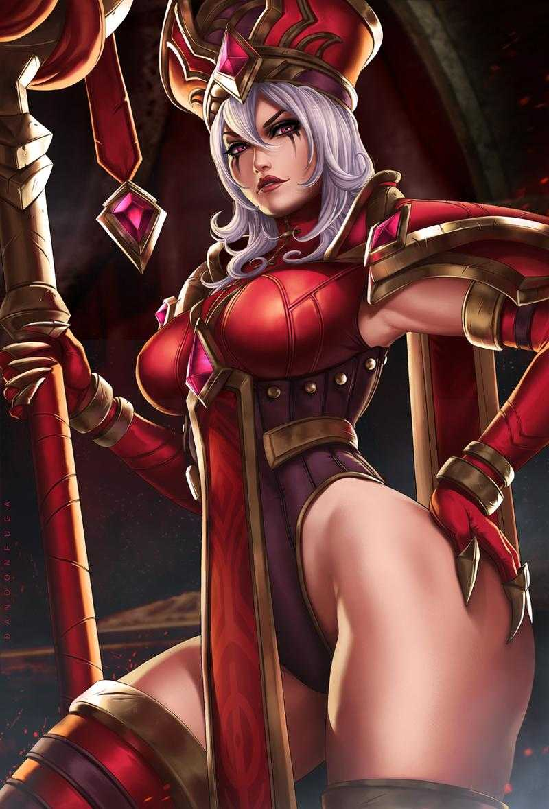 Sally Whitemane - World Of Warcraft