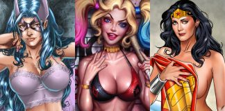 Top 100 Hottest Comicbook Characters