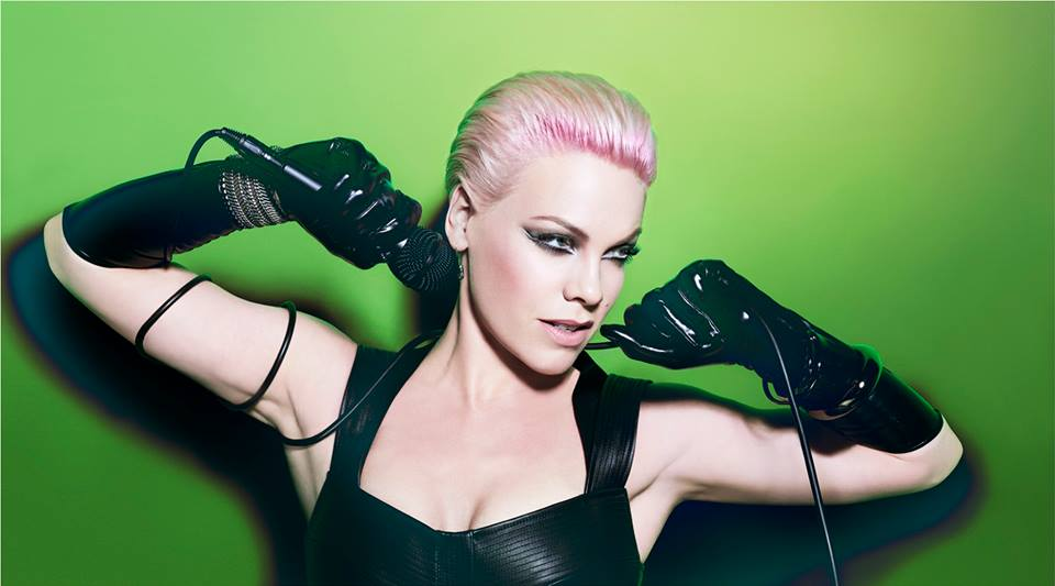 pink looking sexy