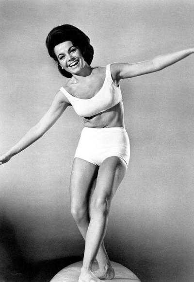 Annette Funicello topless
