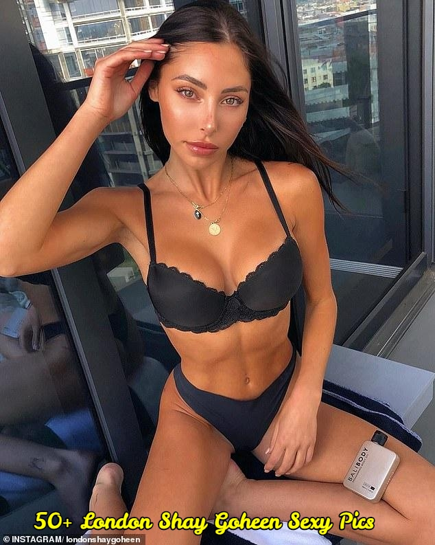 London Shay Goheen sexy pictures