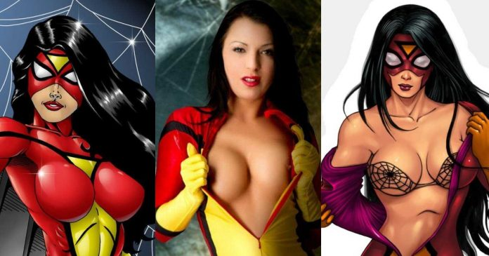 38 Hot Pictures Of Spider-Woman Which Will Make You Succumb To Her