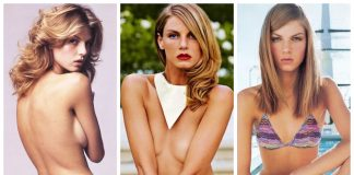 51 Angela Lindvall Nude Pictures Which Make Her The Show Stopper
