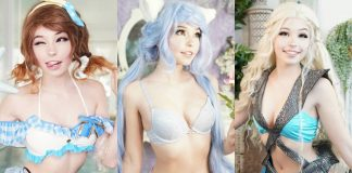 51 Sexy Belle Delphine Boobs Pictures Will Heat Up Your Blood With Fire And Energy For This Sexy Diva