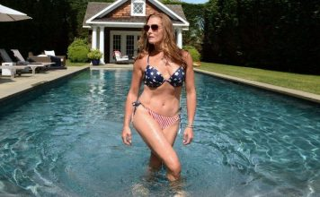 Brooke Shields shows off her gorgeous figure after her 55th birthday celebration