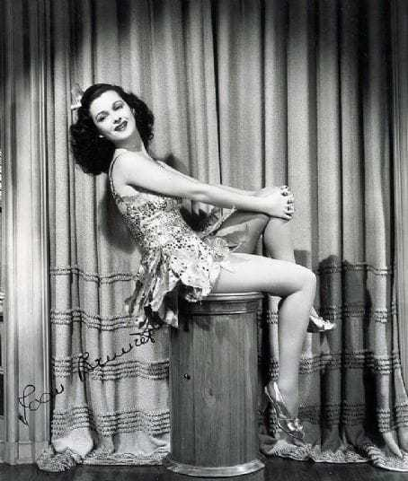 Joan Bennett thigh pictures