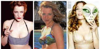 48 Gillian Anderson Nude Pictures Flaunt Her Immaculate Figure