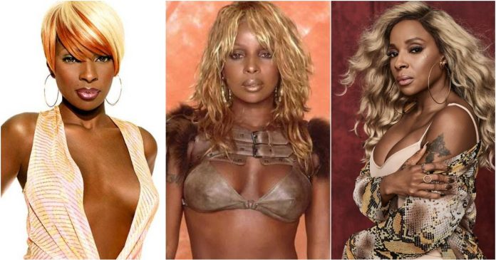 51 Hot Pictures Mary J. Blige Uncover Her Awesome Body