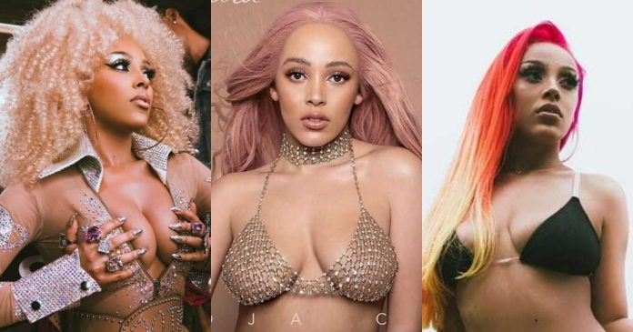 51 Sexy Doja Cat Boobs Pictures Which Are Inconceivably Beguiling